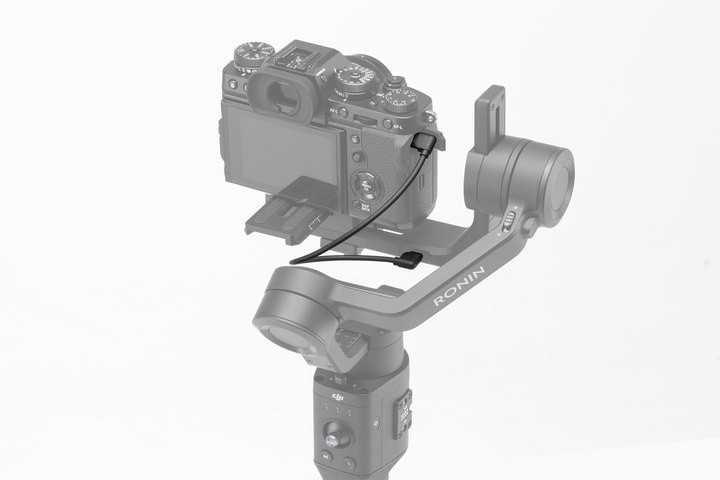 Ronin-SC RSS valdymo kabelis Fujifilm kameroms-DJI Ronin-S/SC-DJI-Dronai.lt                             title=