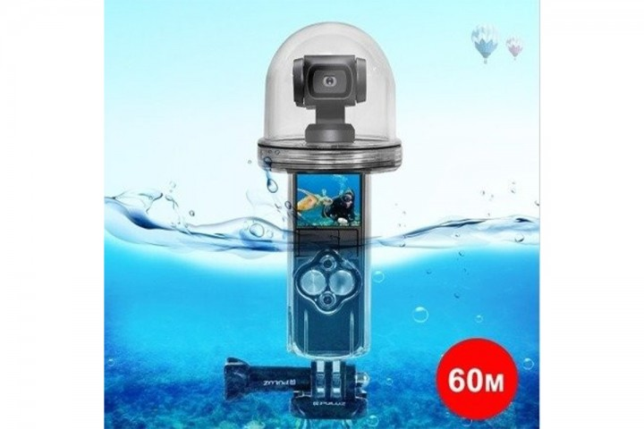 DJI Osmo Pocket PULUZ dėklas nardymui po vandeniu-DJI Osmo Pocket-DJI-Dronai.lt                             title=