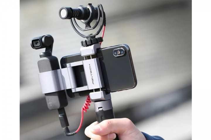 PGYTECH telefono laikiklis Osmo Pocket kamerai-DJI Osmo Pocket-PGYTECH-Dronai.lt                             title=