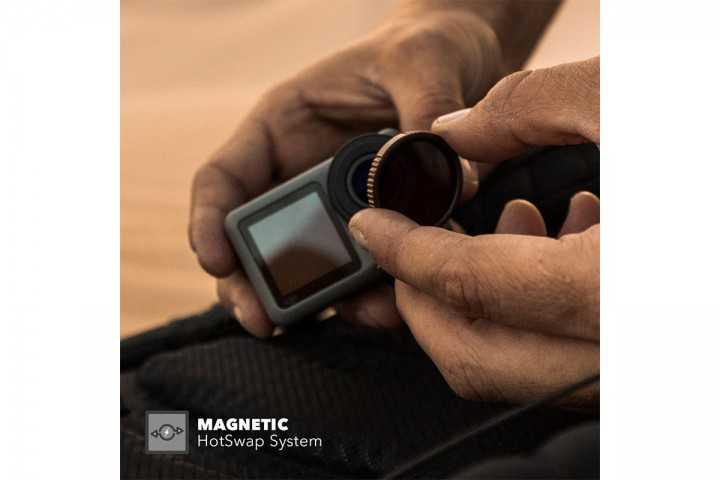 PolarPro 3-jų ND filtrų rinkinys DJI Osmo Action kamerai-DJI OSMO Action-PolarPro-Dronai.lt                             title=