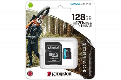 KINGSTON 128GB microSD 170R/90W
