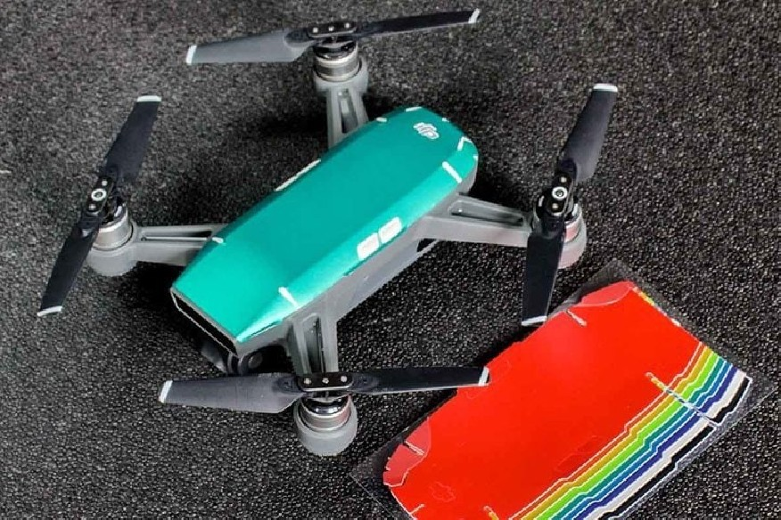 DJI Spark spalvotų lipdukų rinkinys - 9 spalvos-DJI Spark-DJI-Dronai.lt                             title=