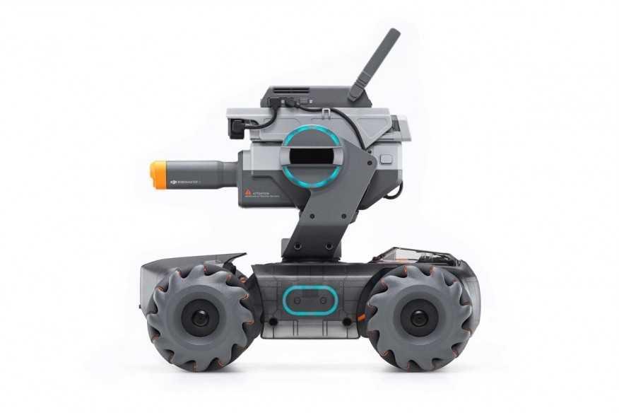 DJI RoboMaster S1 robotas-Robomaster-DJI-Dronai.lt                             title=