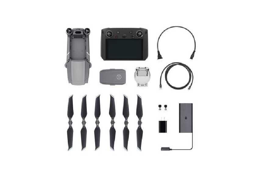 DJI Mavic 2 Pro dronas su Smart Controller-DJI Mavic 2-DJI-Dronai.lt                             title=