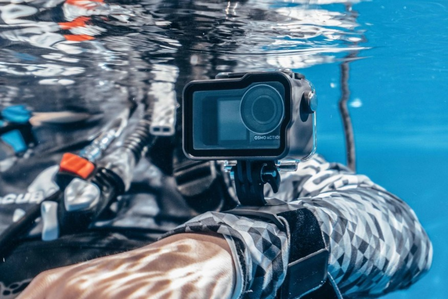 DJI Osmo Action vandens nepraleidžiantis dėklas-DJI OSMO Action-DJI-Dronai.lt                             title=