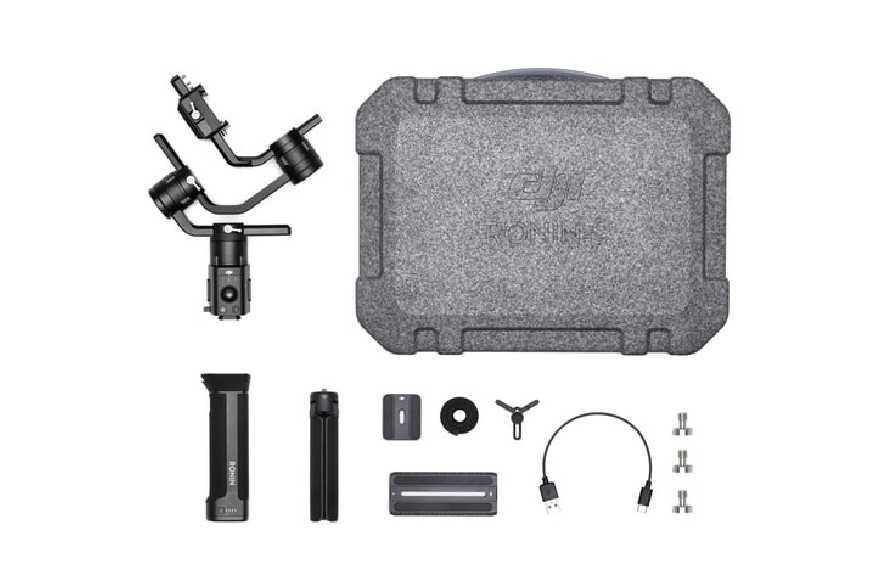 DJI Ronin-S Essentials Kit stabilizatorius fotoaparatams-DJI Ronin-S/SC-DJI-Dronai.lt                             title=