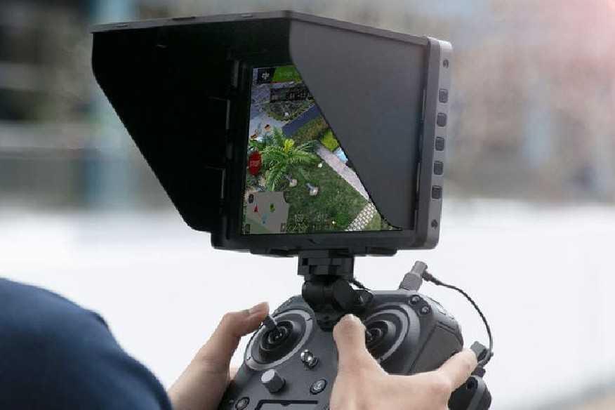 DJI CrystalSky ekrano dėklas nuo saulės (5.5 inc)-DJI CrystalSky-DJI-Dronai.lt                             title=
