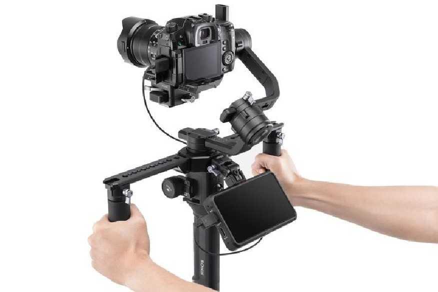 Ronin-S/SC lankstomas monitoriaus laikiklis-DJI Ronin-S/SC-DJI-Dronai.lt                             title=