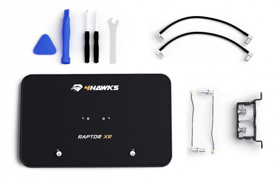 Ryšio stiprintuvas 4Hawks Raptor XR dronui DJI Inspire 2-Ryšio stiprintuvai-4Hawks-Dronai.lt                             title=